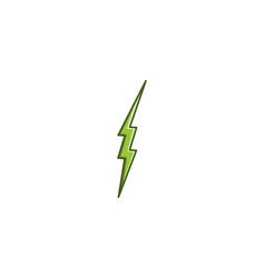 lightning minimalist modern logo designs vector image
