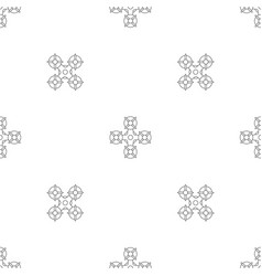 Military drone pattern seamless vector