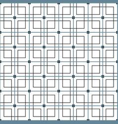 Monochrome geometric graphic pattern vector