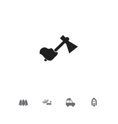 set of 5 editable travel icons includes symbols vector image