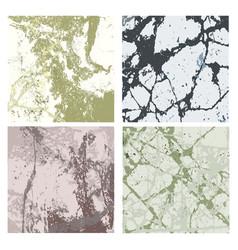 set of textures 4 vector image
