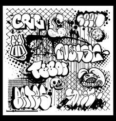 street art graffiti vector image