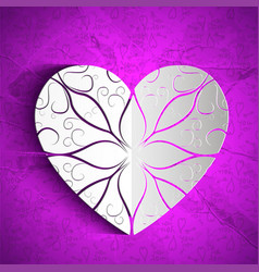 Valentines day amorous background vector