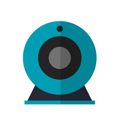 web cam device icon vector image