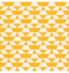 Yellow color blocked pattern vector image vector image