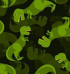 Dinosaur 3d background Tyrannosaurus seamless vector image vector image
