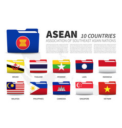 Asean association southeast asian nations and vector