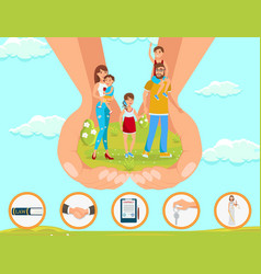 Legal assistance in matters adoption children vector