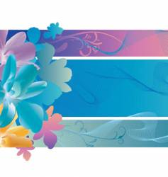 Orchid waves vector