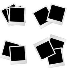 Photo frames two vector image