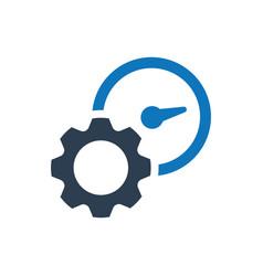 Productivity icon vector