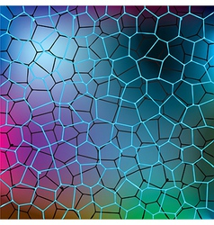shiny abstract color water pattern vector image