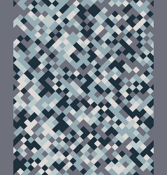 square geometric abstract seamless pattern vector image