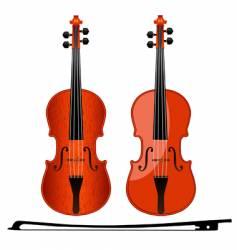 Violins vector