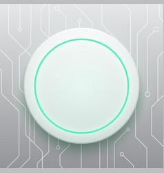 technology digital future modern circle circuit vector image