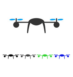 Airdrone flat icon vector