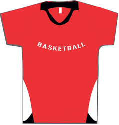 Basketball women short sleeve shooting shirts vector