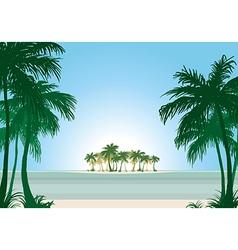 beach 04 01 vector image