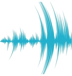 Equalizer music sound studio wave icon vector image