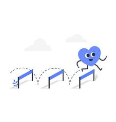 Mental agility concept vector