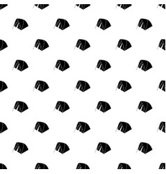 mountain tent pattern seamless vector image