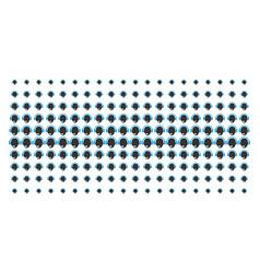 operator head shape halftone effect vector image