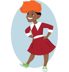 Orphan Annie vector image