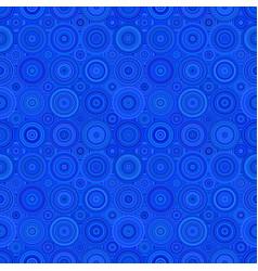 Repeating circle mosaic pattern - background vector