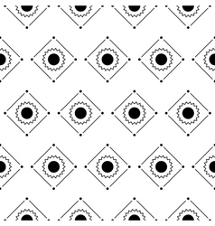 seamless patternRepeating geometric tiles vector image