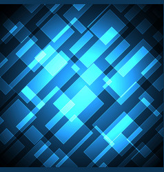 technology future diagonal rectangle light stripe vector image