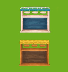 Window top menu 31 set vector