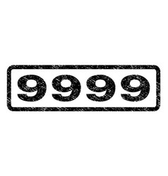 9999 watermark stamp vector image vector image