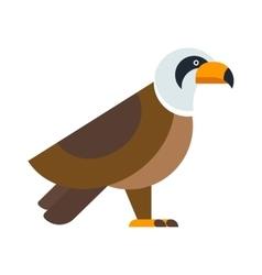 North American bald eagle raptor wildlife bird and vector image vector image