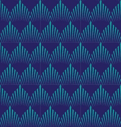 japan wave patternGeometric stylish background vector image