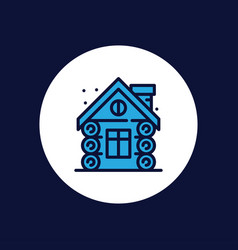 cabin icon sign symbol vector image