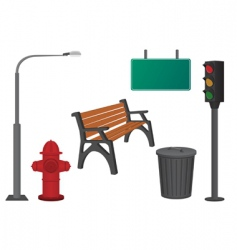 City objects vector