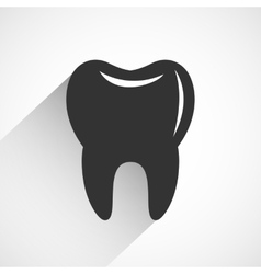 Healthy tooth icon vector image