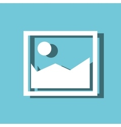 picture image isolated icon vector image