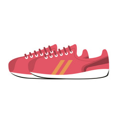 sneakers shoes icon image vector image