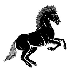Stylised horse vector