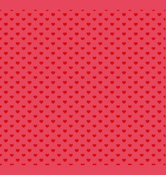 happy valentines day pattern with hearts vector image vector image