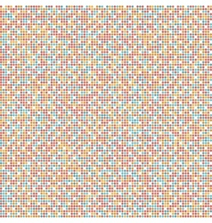 geometric background of colored dots vector image