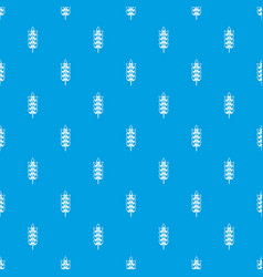 long spica pattern seamless blue vector image