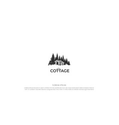 pine cedar spruce conifer evergreen fir larch vector image