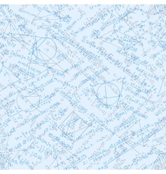 Mathematics seamless EPS 10 vector image vector image
