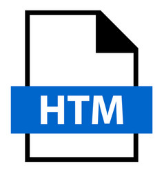 file name extension htm type vector image