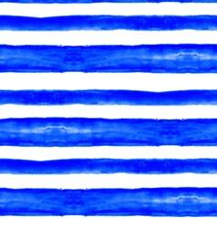Blue watercolor lines vector image