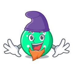 elf circle character cartoon style vector image