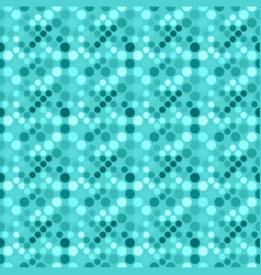 Geometrical circle pattern background - abstract vector