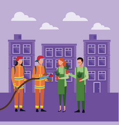 People job and occupation vector